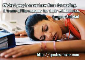 Wickedness quote #2