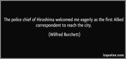 Wilfred Burchett's quote