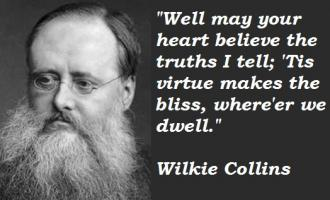 Wilkie Collins's quote