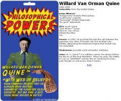 Willard Van Orman Quine's quote