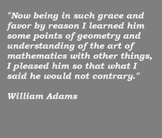 William Adams's quote