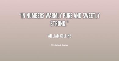 William Collins's quote