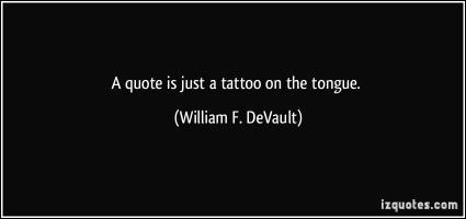 William F. DeVault's quote #1