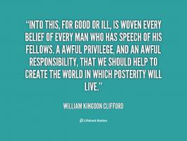 William Kingdon Clifford's quote