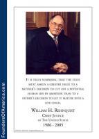William Rehnquist's quote #1