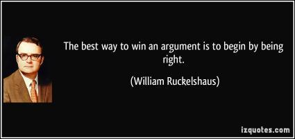 William Ruckelshaus's quote