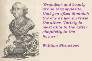 William Shenstone's quote