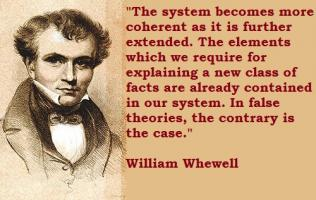 William Whewell's quote