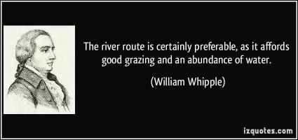 William Whipple's quote