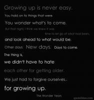 Wonder Years quote #2