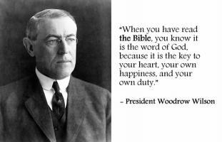 Woodrow Wilson quote #2