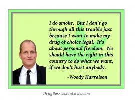 Woody Harrelson's quote