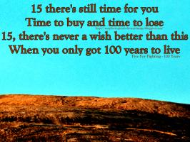 Years quote #2