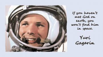 Yuri Gagarin's quote