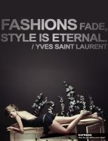 Yves Saint Laurent's quote