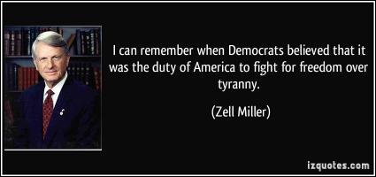 Zell Miller's quote