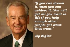 Zig Ziglar's quote