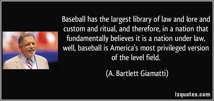 A. Bartlett Giamatti's quote #1