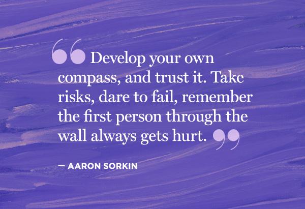 Aaron Sorkin's quote #1