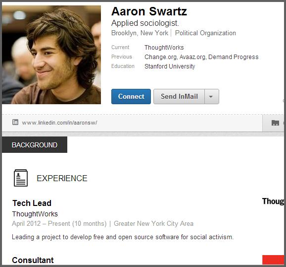 Aaron Swartz's quote #7