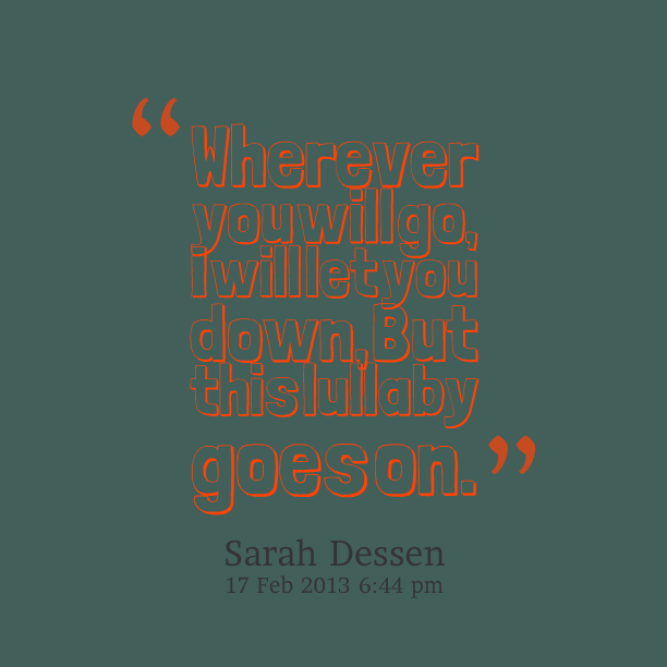 Abandonment quote #2
