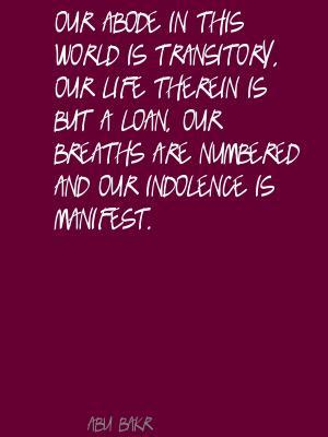Abode quote #2