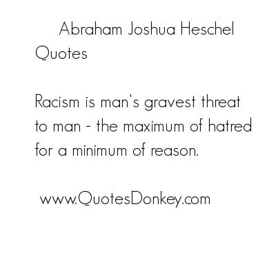 Abraham Joshua Heschel's quote #1