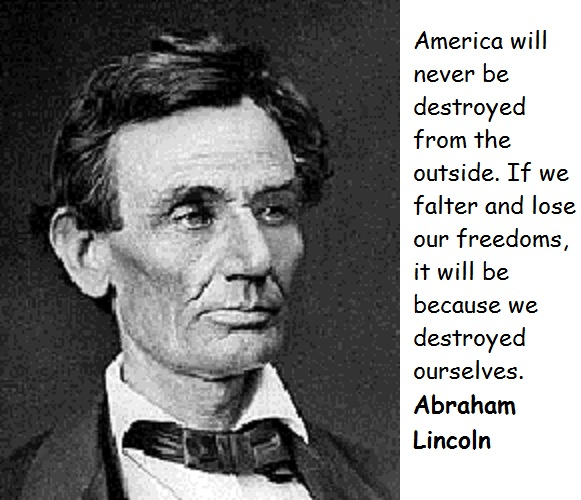 Abraham Lincoln quote #2