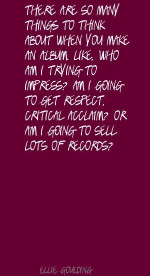 Acclaim quote #1