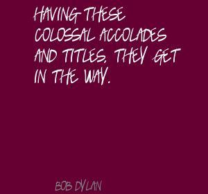 Accolades quote #1