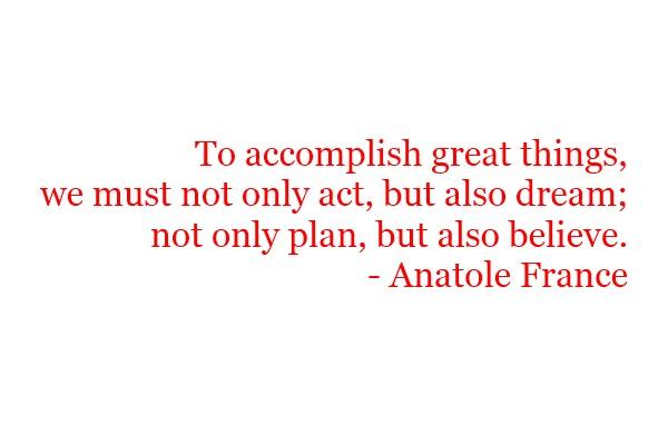 Accomplish quote #1