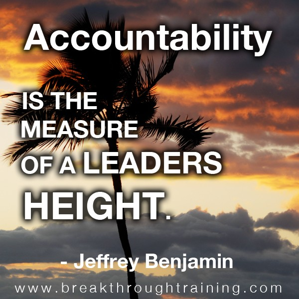 Accountability quote #2