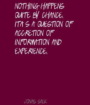 Accretion quote #2