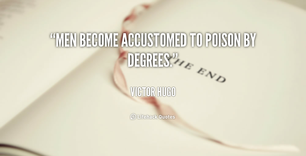 Accustomed quote #4