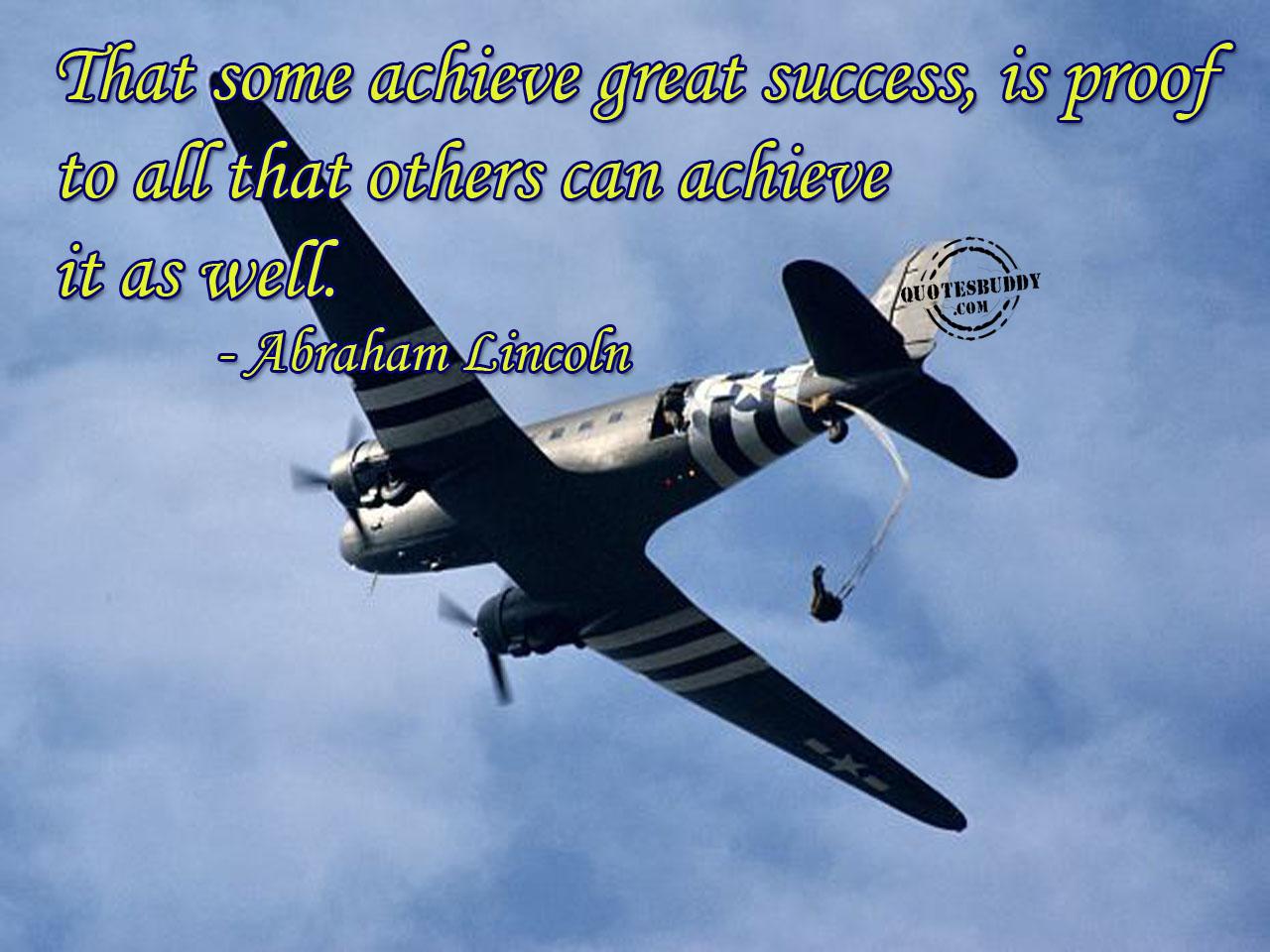 Achieve quote #2