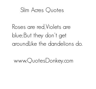 Acres quote #1