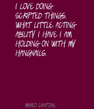 Acting Ability quote #2
