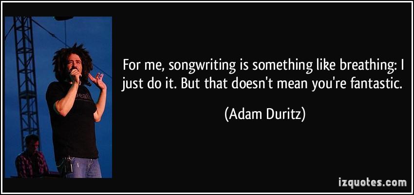 Adam Duritz's quote #4