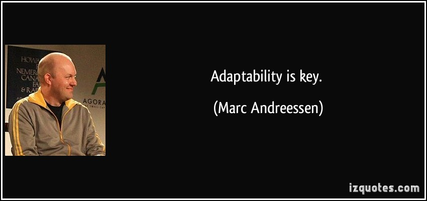 Adaptability quote #1