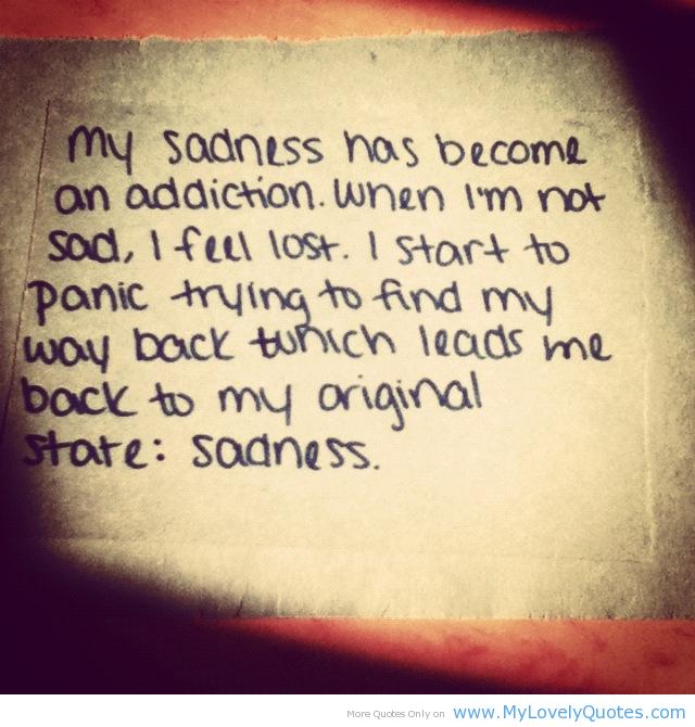 Addiction quote #2