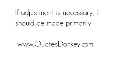 Adjustment quote #4