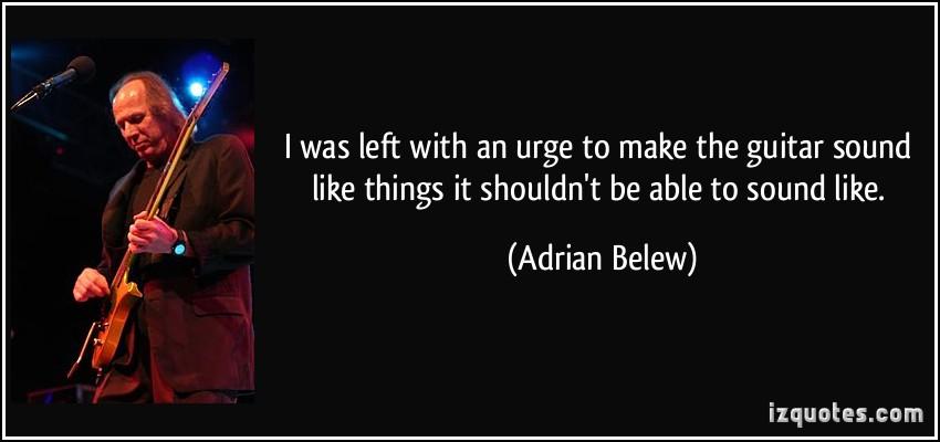 Adrian Belew's quote #2