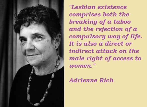 Adrienne Rich's quote #1