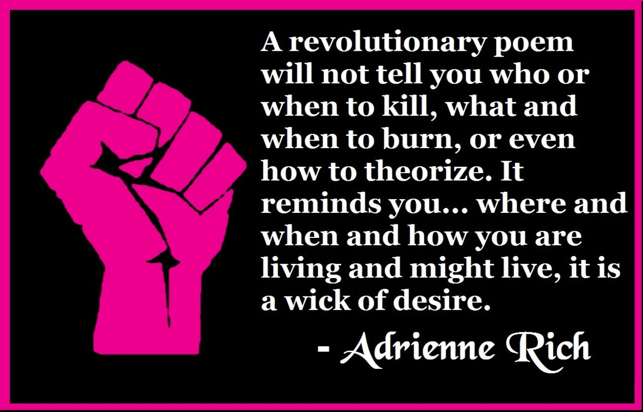 Adrienne Rich's quote #4