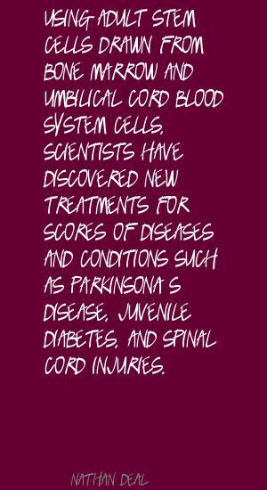 Adult Stem Cells quote #1