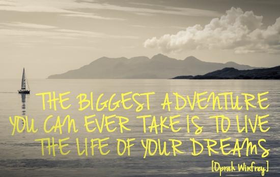 Adventure quote #1