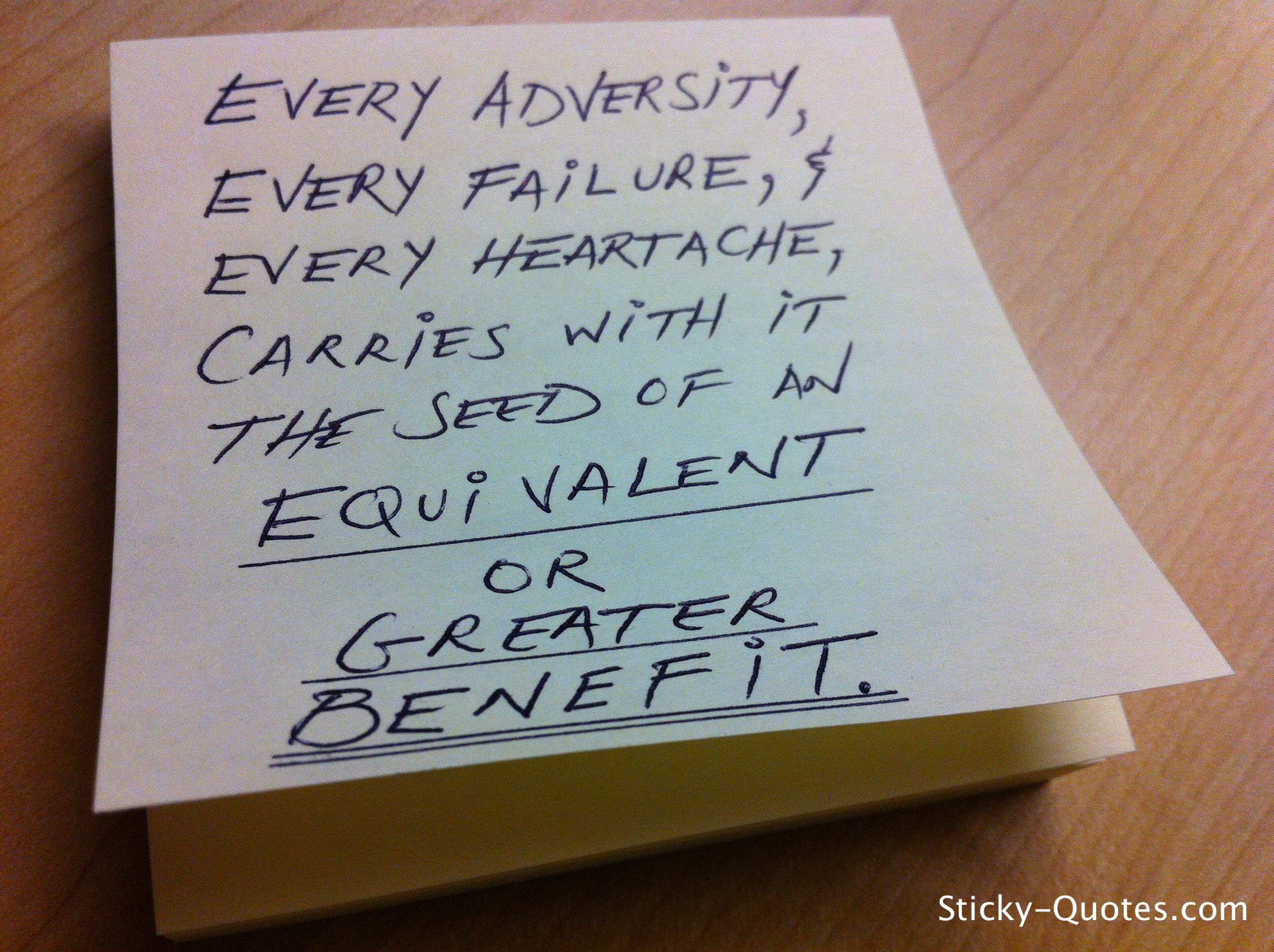Adversity quote #1