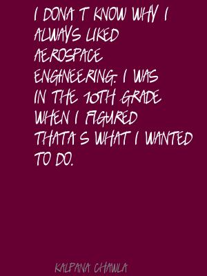 Aerospace quote #2