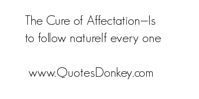 Affectation quote #1