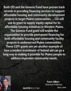 Affordable Housing quote #2